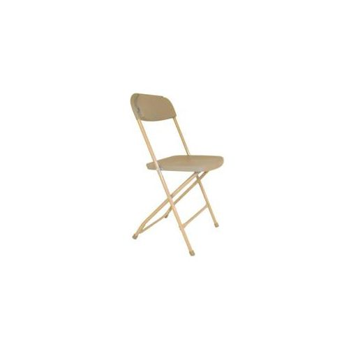 Our Tan Folding Chairs Are Great For Backyard Parties, Graduation,  Meetings, And Weddings! Renting For Under A Dollar, This Chair Is An  Affordable Way To ...